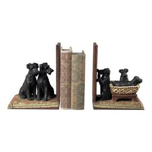 Puppies - 13 Inch Basket Bookend