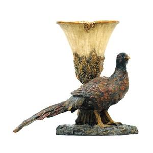 Autumn Pheasant - Decorative Planter