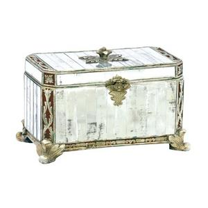 Decorative Panelled Mirror Box