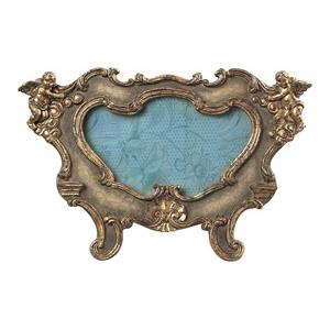 """Florintine - 14"""" Oval Scroll Picture Frame"""