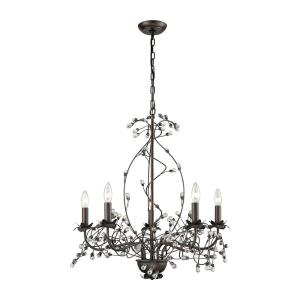 Oberon - Five Light Grande Chandelier