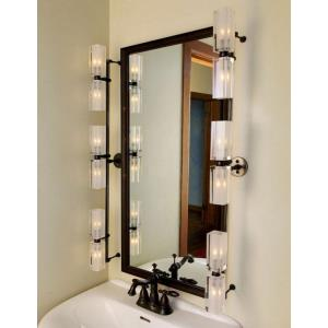 Six Light 10W Rectangular Bath Vanity