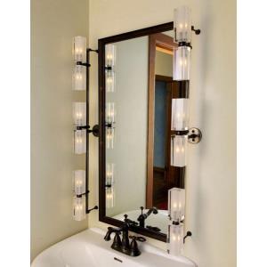 Six Light 20W Rectangular Bath Vanity