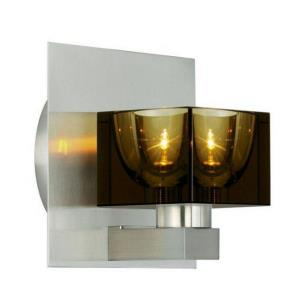 Tyme - 5 Inch 3W 1 LED Cube Wall Sconce
