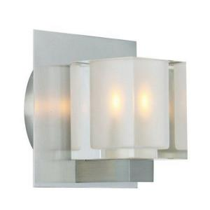 5 Inch 3W 1 LED Cube Wall Sconce