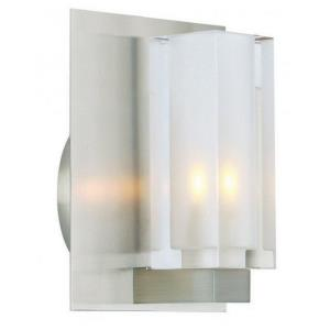 One Light Rectangular Wall Sconce