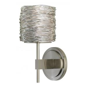 """Coil - 9.5"""" 2W 1 LED Short Wall Sconce"""