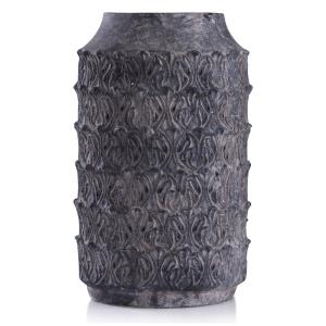 "Binani - 16"" Decorative Concrete Cylinder Vase"