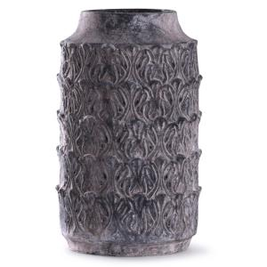 "Binani - 19"" Decorative Concrete Cylinder Vase"