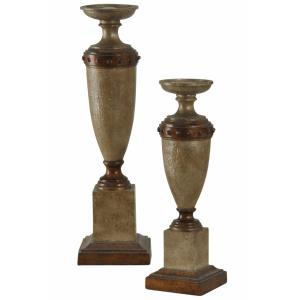 "20"" Traditional Candleholder(Set of 2)"