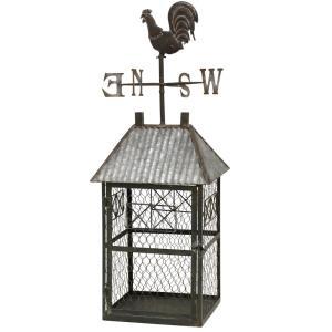 "34"" Galvanized Barn Cage"