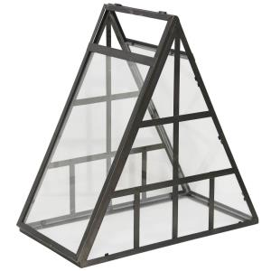"20"" Triangular Mini Greenhouse Table Accessory"