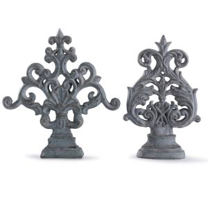 "Cleobury - 17"" Ornametal Scroll Accessory (Set of 2)"