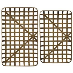 Paracel - 40.6 Inch Bamboo Trays (Set of 2)