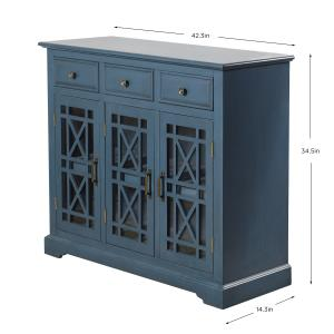 Archer Ridge - 42.3 Inch 3 Drawer with 2 Door Sideboard