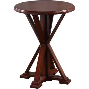 "Presley - 18"" Wooden Accent Table"