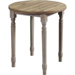 Quail Farm - 24 Inch Round Wooden Spool Table