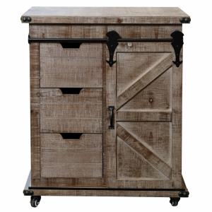 "Presley - 27"" 3 Drawer with Door Side Cabinet"