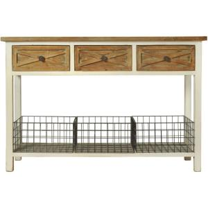"Quail Farm - 47"" 3 Drawer Console Table"