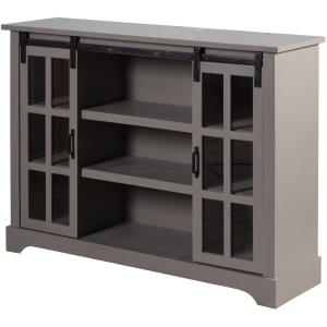 "Church St. - 48"" 2 Sliding Door with Shelves Sideboard"