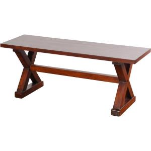 "Presley - 48"" Wood Bench"