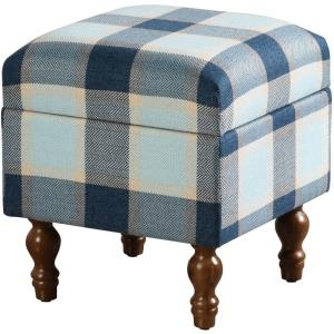 "Upholstered - 16.14"" Short Storage Bench"