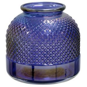 9 Inch Spanish Tall Diamond Stud Vase