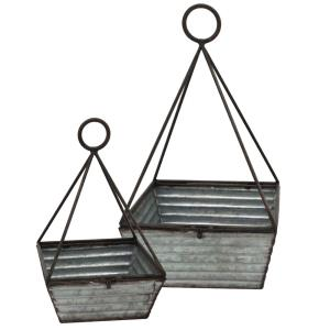 "18.1"" Decorative Basket (Set of 2)"
