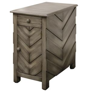 Chairside - 24 Inch Arrow Design End Table