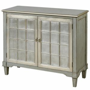 """Asbury - 44"""" Two Door Console Table With Doors And Table Top"""