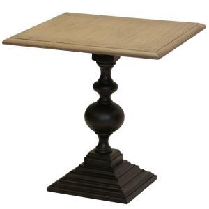 Colorado - 24 Inch Round Pedestal Base End Table