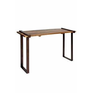 "Strap Iron Coarse - 48"" Rough Cut Console Table"
