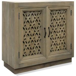 "36"" Mirrored Two Door Wood Cabinet"