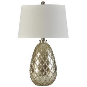 Beacon - One Light Filigree Pattern Table Lamp
