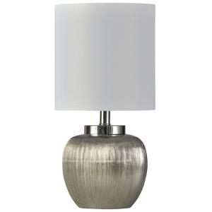 Beacon - One Light Etched Ceramic Table Lamp