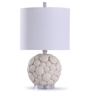 Aibion - One Light Carved Urchin Table Lamp