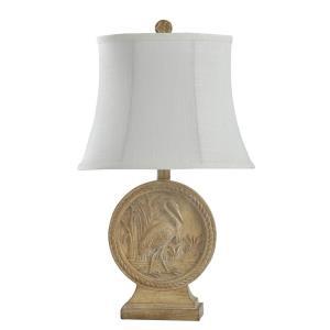 Still Well Bay Egret - One Light Table Lamp
