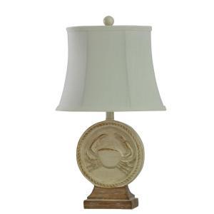 Whitestone Point Crab - One Light Table Lamp