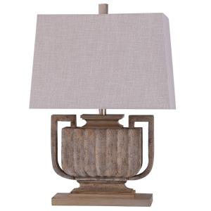Wembley - One Light Ribbed Urn Table Lamp