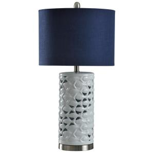 School of Fish - One Light Cylindrical Table Lamp