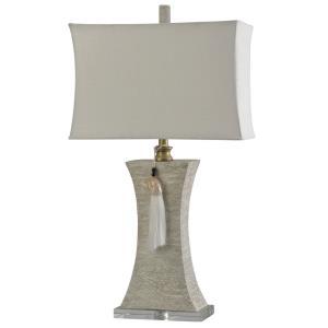 Kousa Wood - One Light Table Lamp