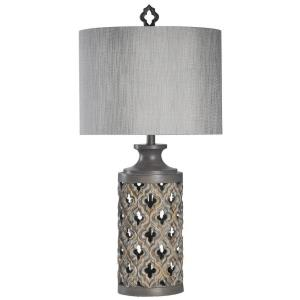 Morocaan Stormy Skies - One Light Table Lamp