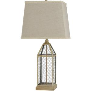 33 Inch One Light Table Lamp