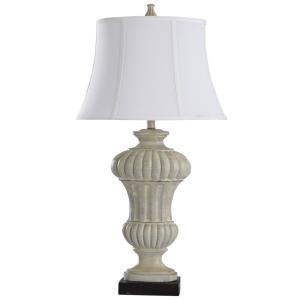 Sauga Cream - One Light Table Lamp