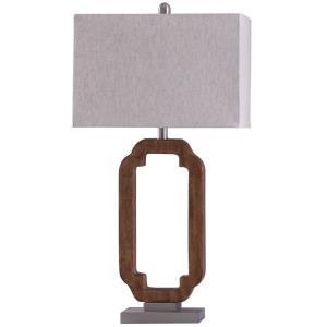 Hansen - One Light Open Key Design Table Lamp