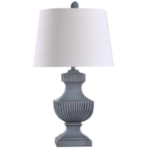 Askern - One Light Ribbed Urn Table Lamp