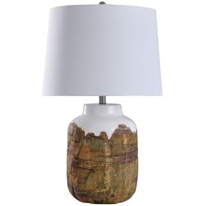 Canyon - One Light Textured Cylinder Table Lamp