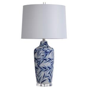 Hesper - One Light Leaf Design Table Lamp