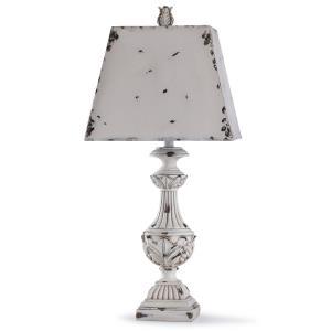 Alver - One Light Leaf Urn Table Lamp