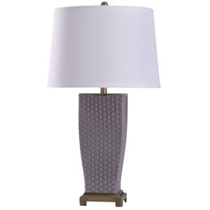Duerstock - One Light Dimpled Glass Table Lamp